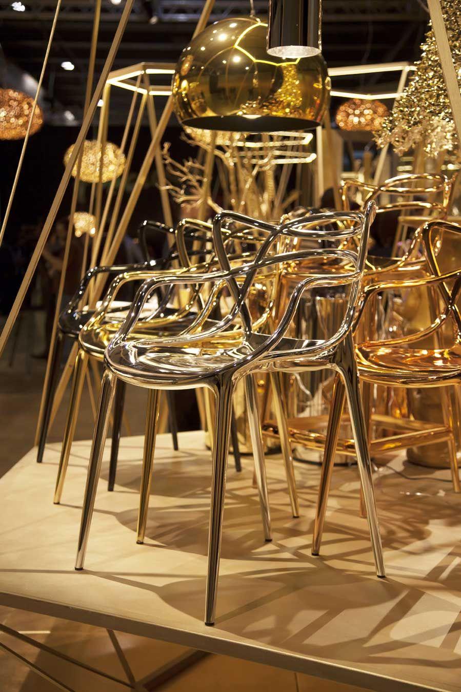 La collection Precious Kartell. La chaise Masters de Philippe Starck.