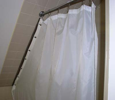 this little doo dad for hanging shower curtain ring from ceiling is ...