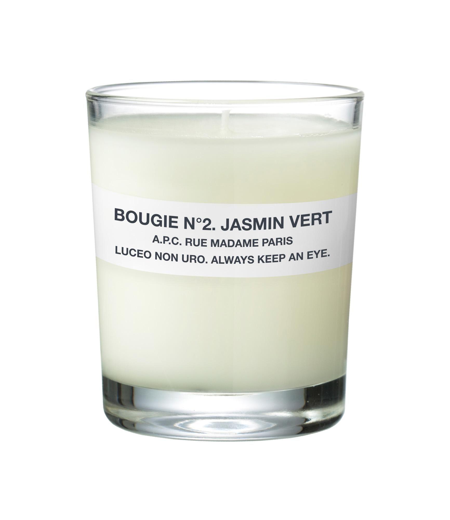 bougie parfum e a p c jasmin vert a p c objets