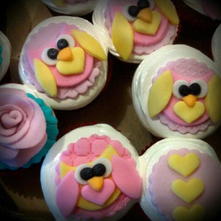 Cupcake corujas