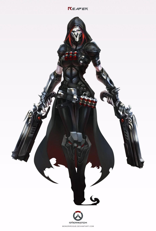 2018 年の「overwatch - reaper by monorirogue on deviantart