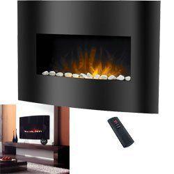 Prolectrix Balmoral Electric Fireplace Heater W Remote Amazon