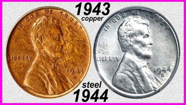 1 700 000 00 Penny Nets 8 Million 1943 Copper 1944 Steel Cents Rare Error Coins Worth Big Money Coin Worth Error Coins Rare Coins Worth Money
