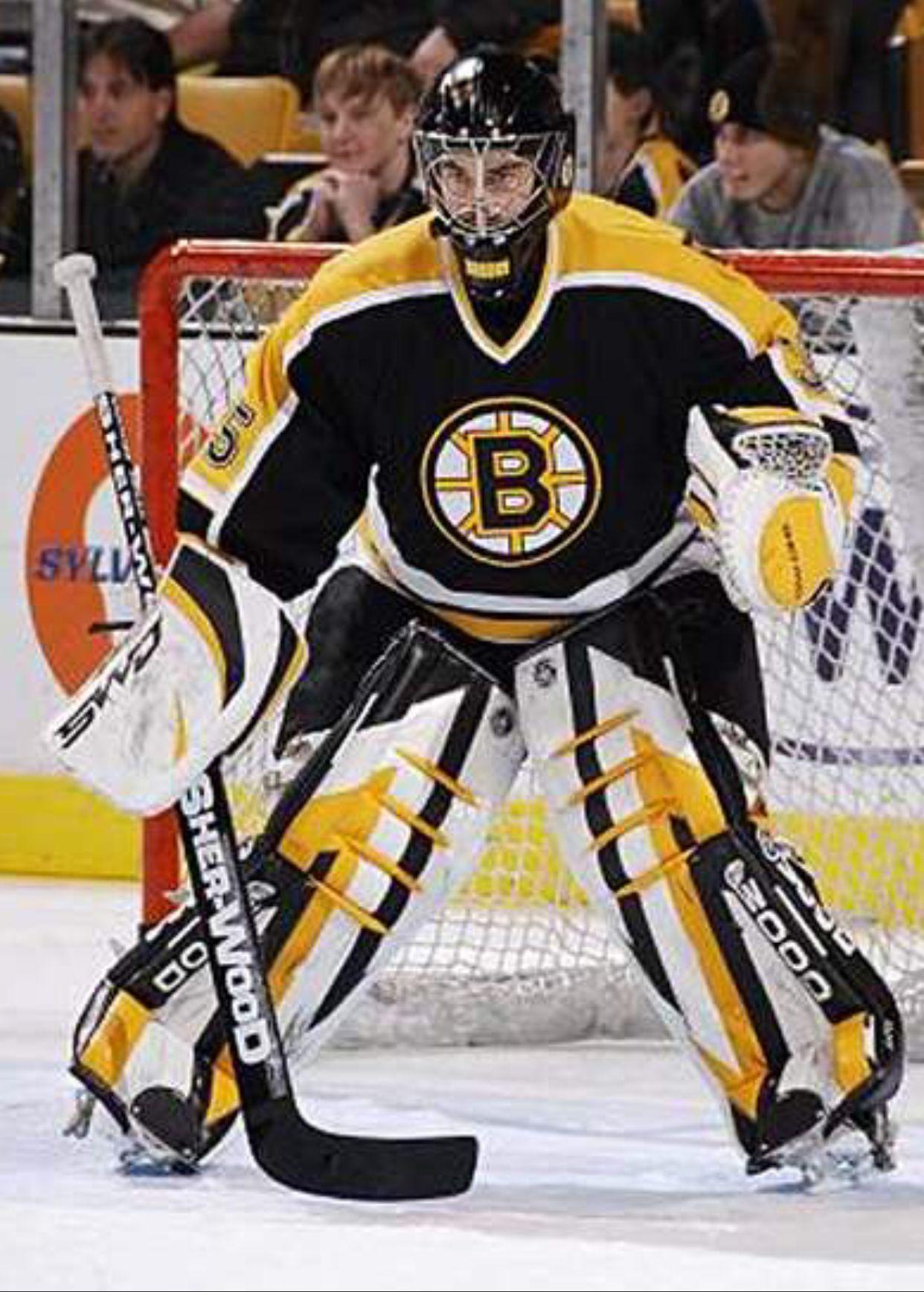 Philippe Sauve 2006 07 Bruins Goalies Boston Bruins Hockey