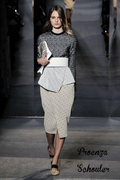 Μίντι φούστες  το comeback των 50 s  runway  fashion  catwalk  midiskirt   style  womensstyle  womensfashion  womensoutfits  proenzaschouler 5e93f94e65a
