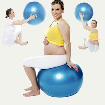 ejercicios pelota de pilates para embarazadas