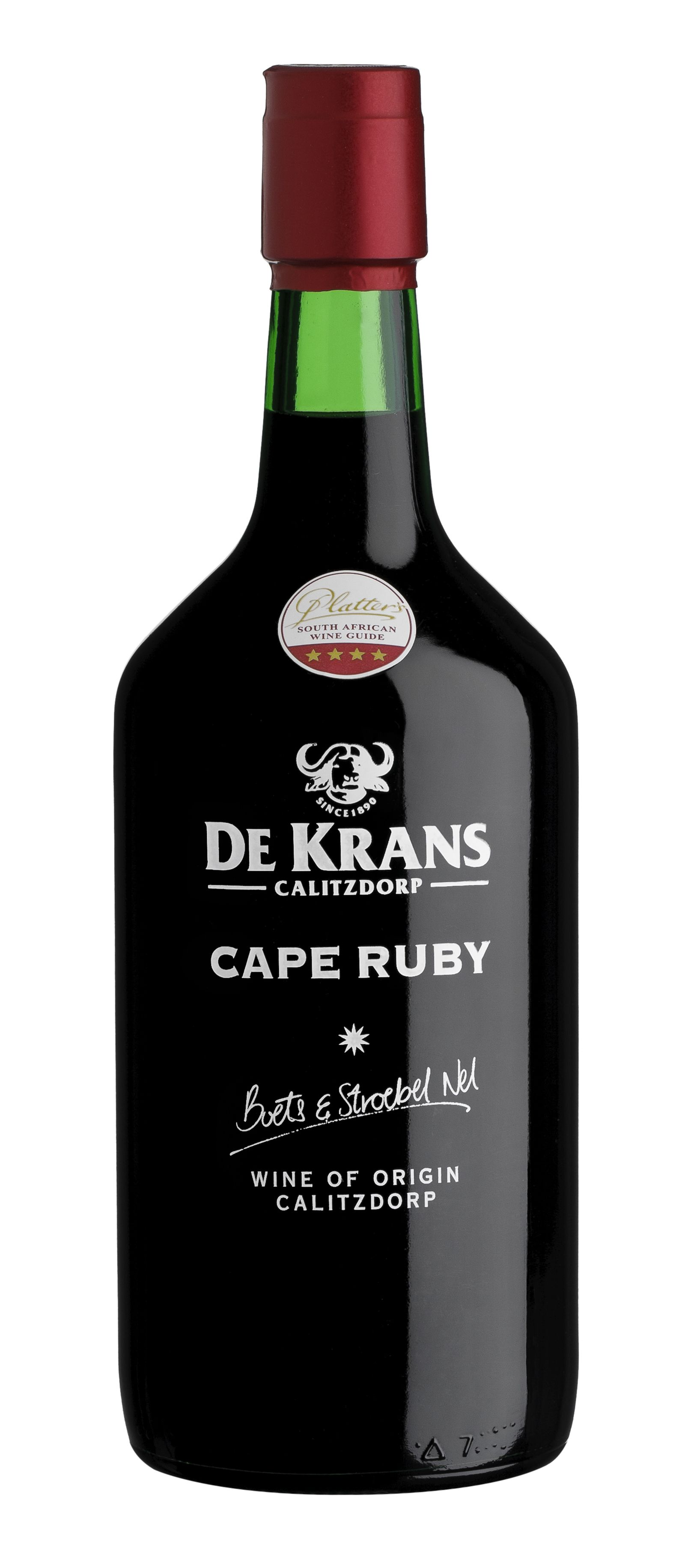 De Krans Cape Ruby Nv Scores 84 Points And 5 Stars In Value