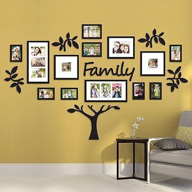 WallVerbs™ 19-Piece Family Tree Set   Decoraciones   Pinterest ...