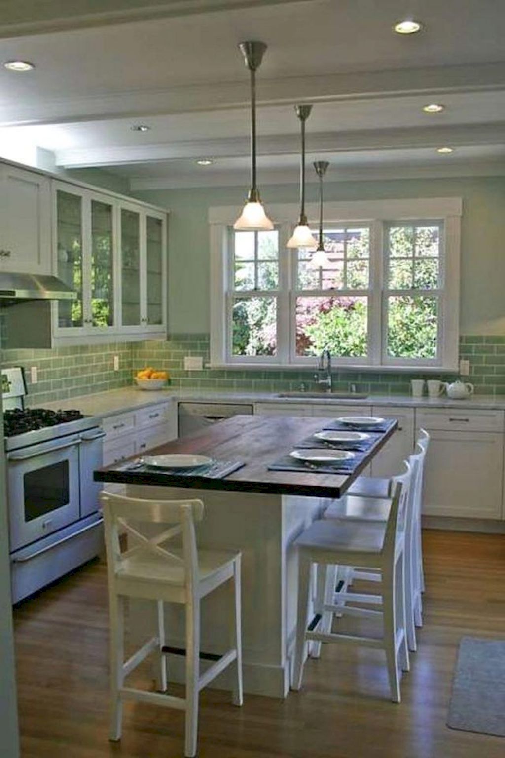 60 beautiful farmhouse kitchen backsplash design ideas insidexterior farmhousek in 2020 on farmhouse kitchen backsplash id=31148