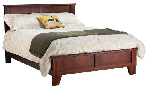 Best Modus Furniture Canyon Queen Size Panel Bed Saddlebrown 640 x 480