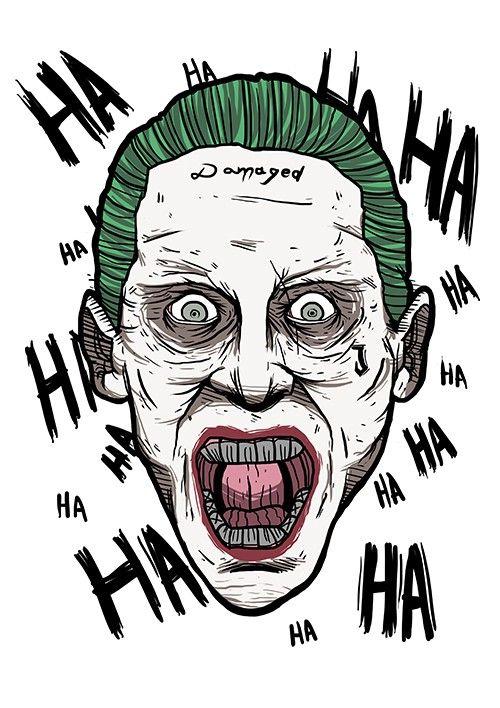 Camiseta Coringa HAHAHA | joker | Joker, Comics e DC Comics