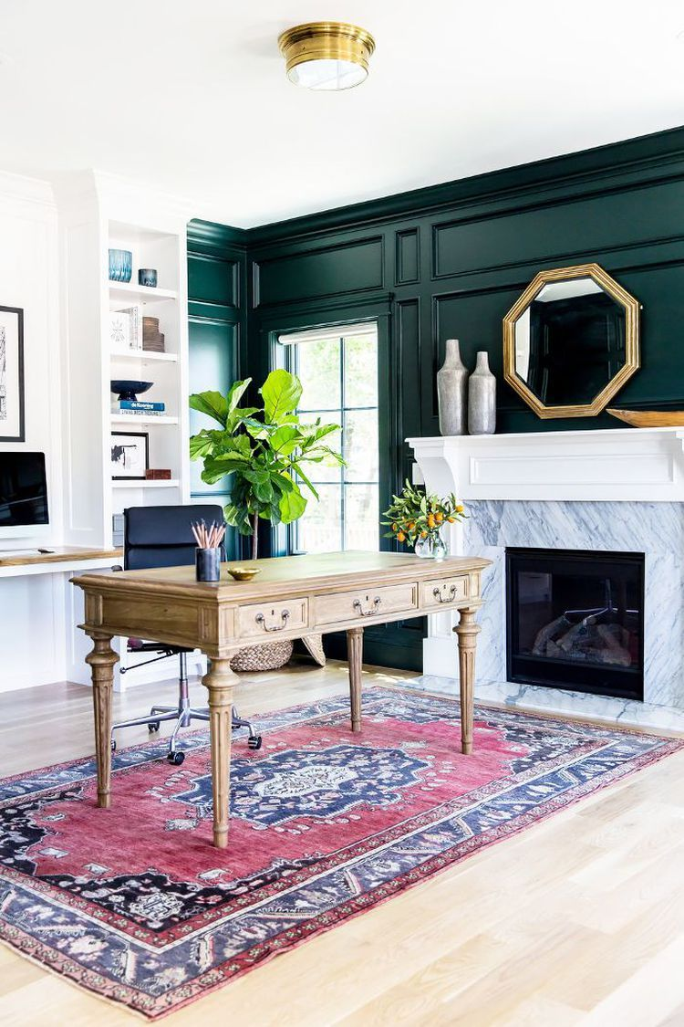 the 10 best green paint colors designers are obsessed with on green office paint color id=70128