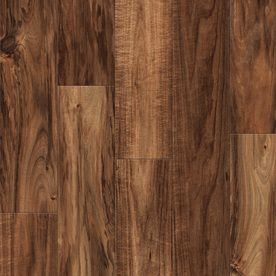 Shop Allen Roth 4 96 In W X 4 23 Ft L Natural Acacia Handscraped Laminate Wood Planks At Lowe S Flooring House Flooring Home Design Decor