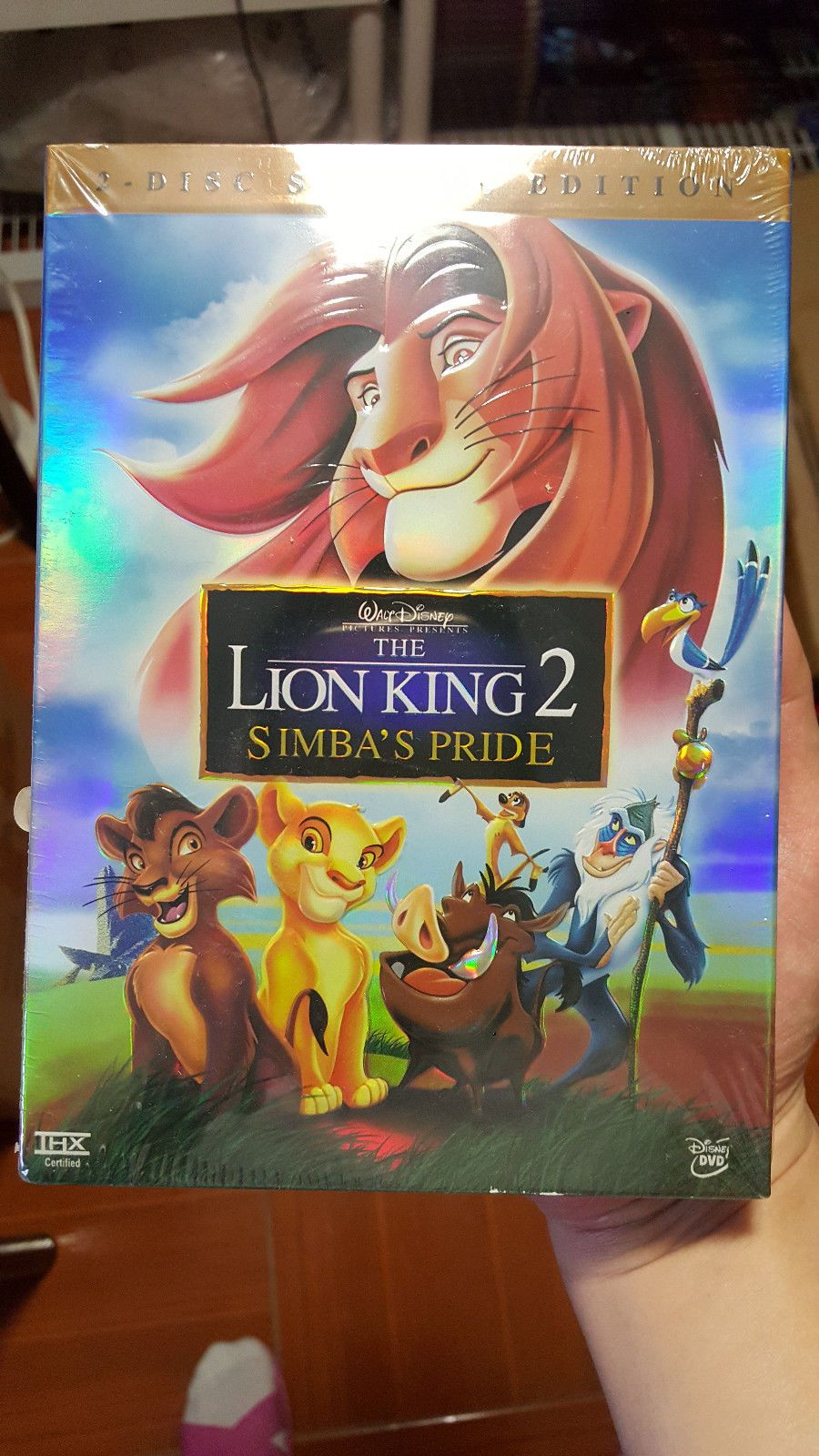 The Lion King 2 Simba S Pride Special Edition Dvd 2004 2 Disc Set Products Lion King 2 Lion King