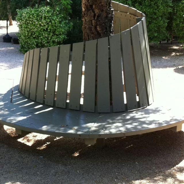 Tree Wrap Around Bench Garden Furniture Pinterest