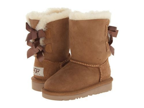 1c76ccc4989 UGG Australia Toddler Bailey Bow 3280T Boots - Size 8 - Chestnut ...