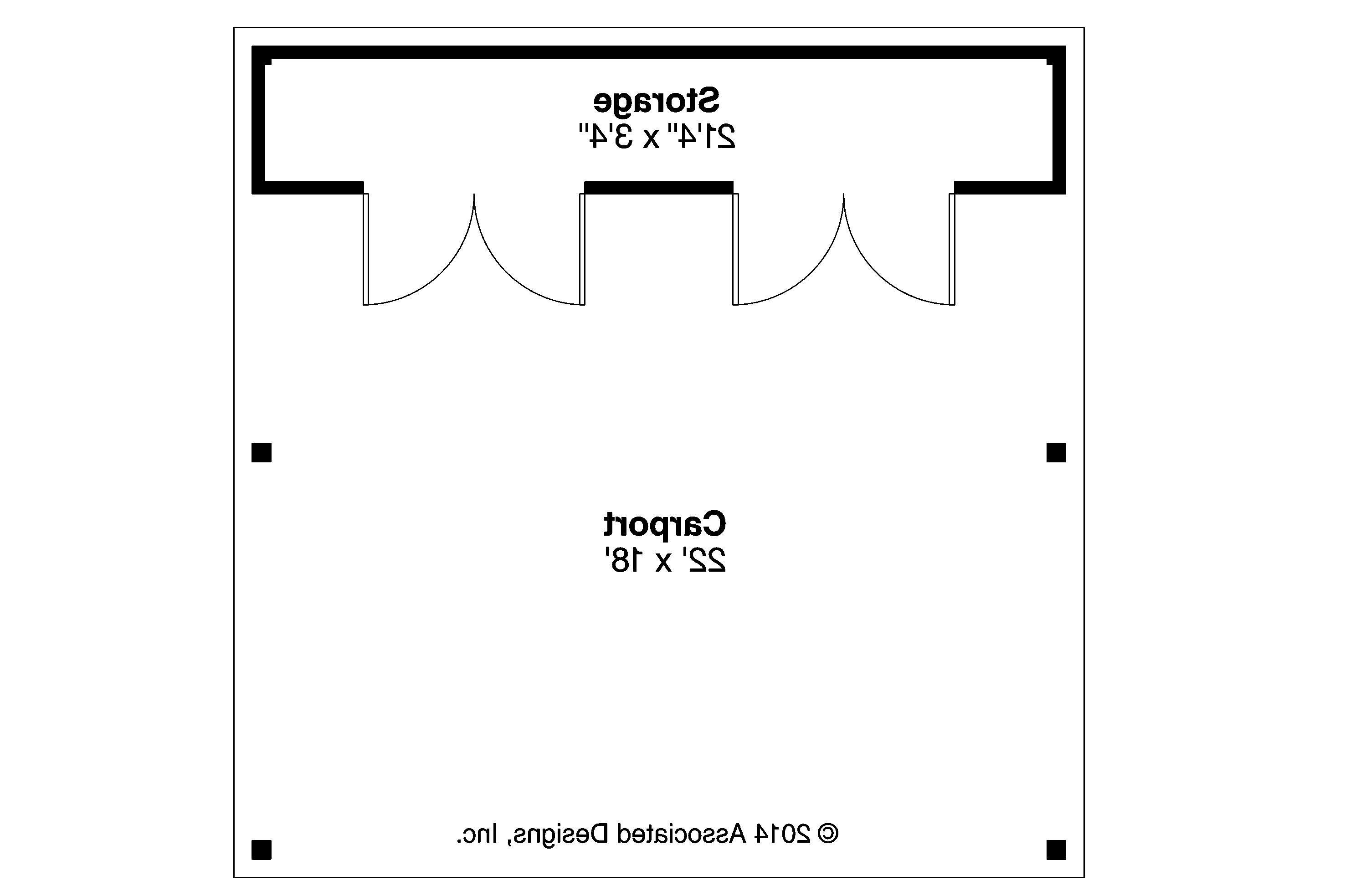 Carport Plan 20 094 Floor Plan Carport Plans Garage Plans Carport