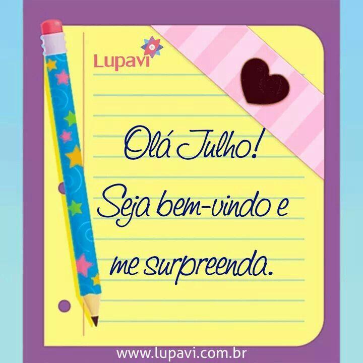 Bom dia!!! Olá Julho! Seja doce, seja alegre, seja bem-vindo e me surpreenda  www.lupavi.com.br  #LupaviPatchwork #artesanato #customizado #personalizado #criativo #quilting #BomDia #QuartaFeira #01deJulho #julho #doce #alegre #BemVindo #patchwork #Lupavi