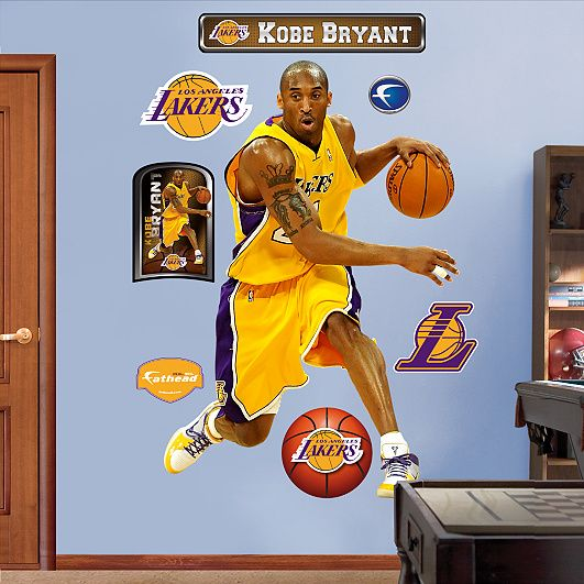 Los Angeles Lakers Basketball Sport Wall Decal Art Decor Sticker