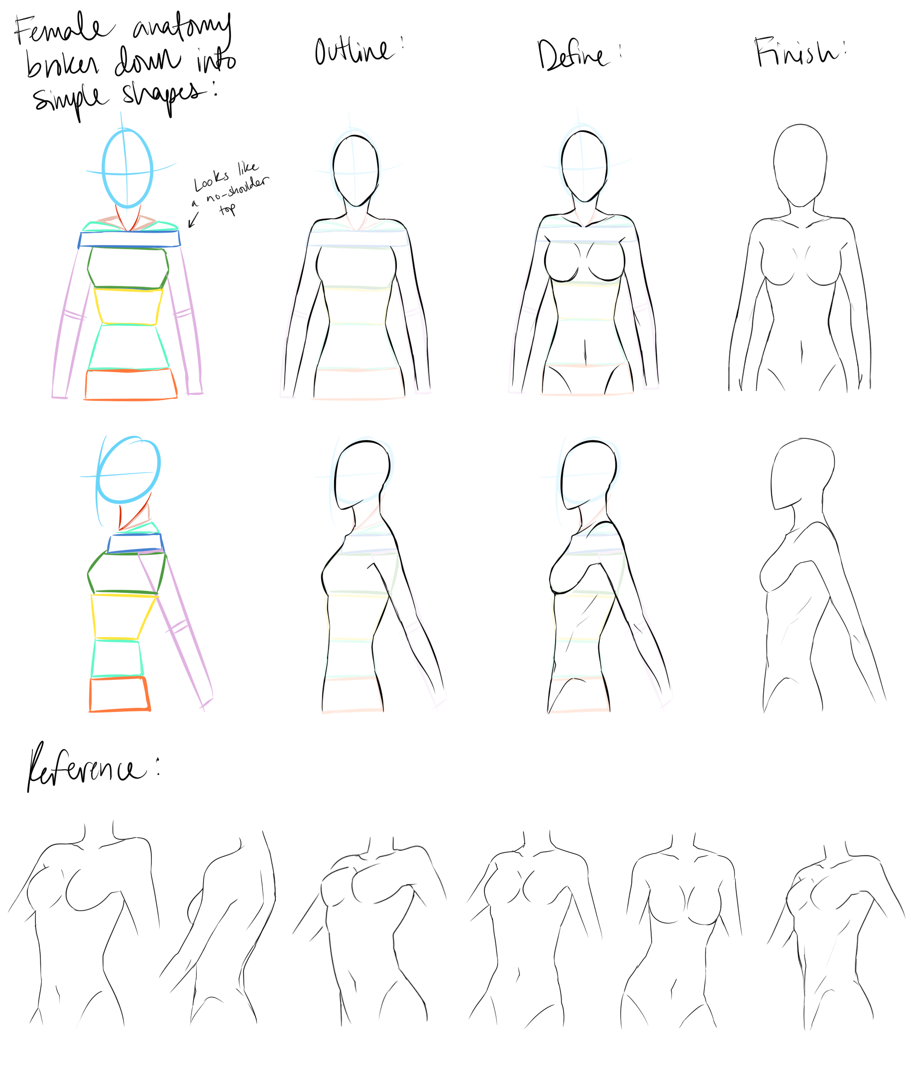 Female Anatomy Reference By Devianttear On Deviantart Female Anatomy Reference Anatomy Reference Human Anatomy Drawing