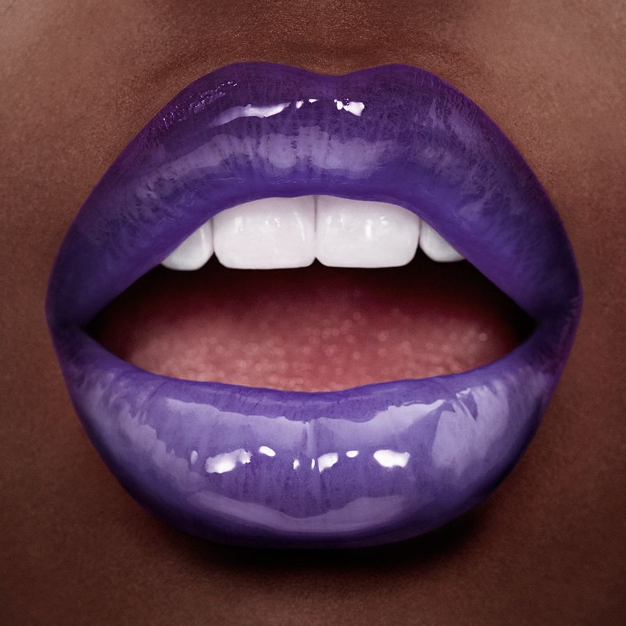 Colouroutsidethelines Purple Lips Makeup Purple Lips Lip Colors