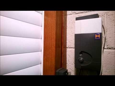 How To Reset The Hormann Rollmatic Bisecur Roller Door Operator Roller Doors Hormann Garage Doors Roller