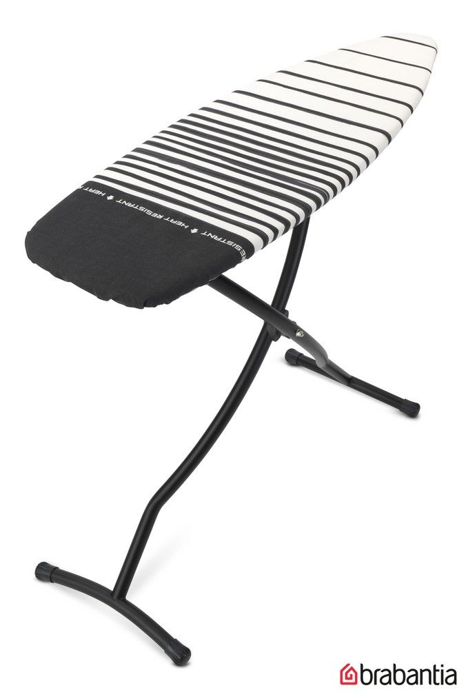 Brabantia Ironing Board With Heat Resistant Parking Zone Black