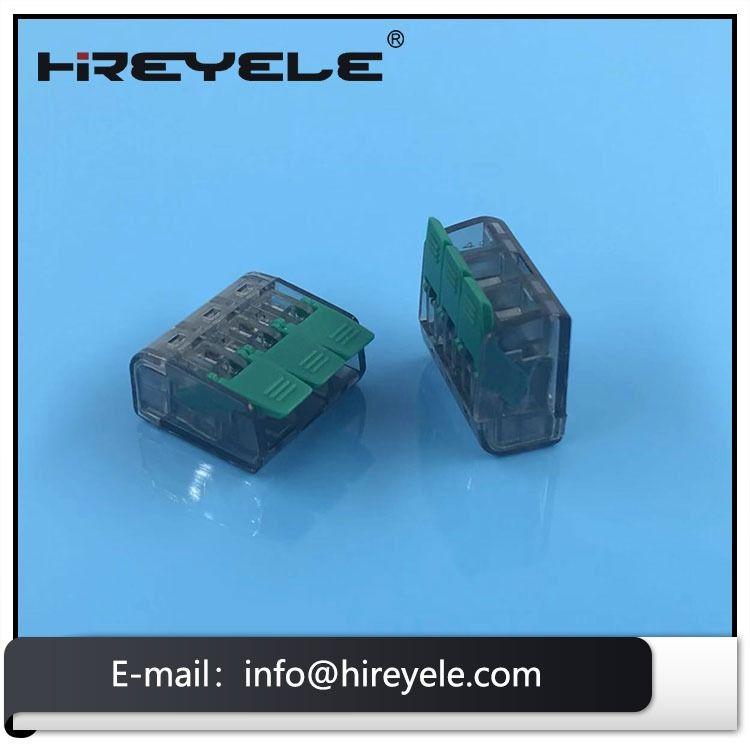 221 413 Wago Lever Nuts 3 Conductor Splicing Compact Connectors