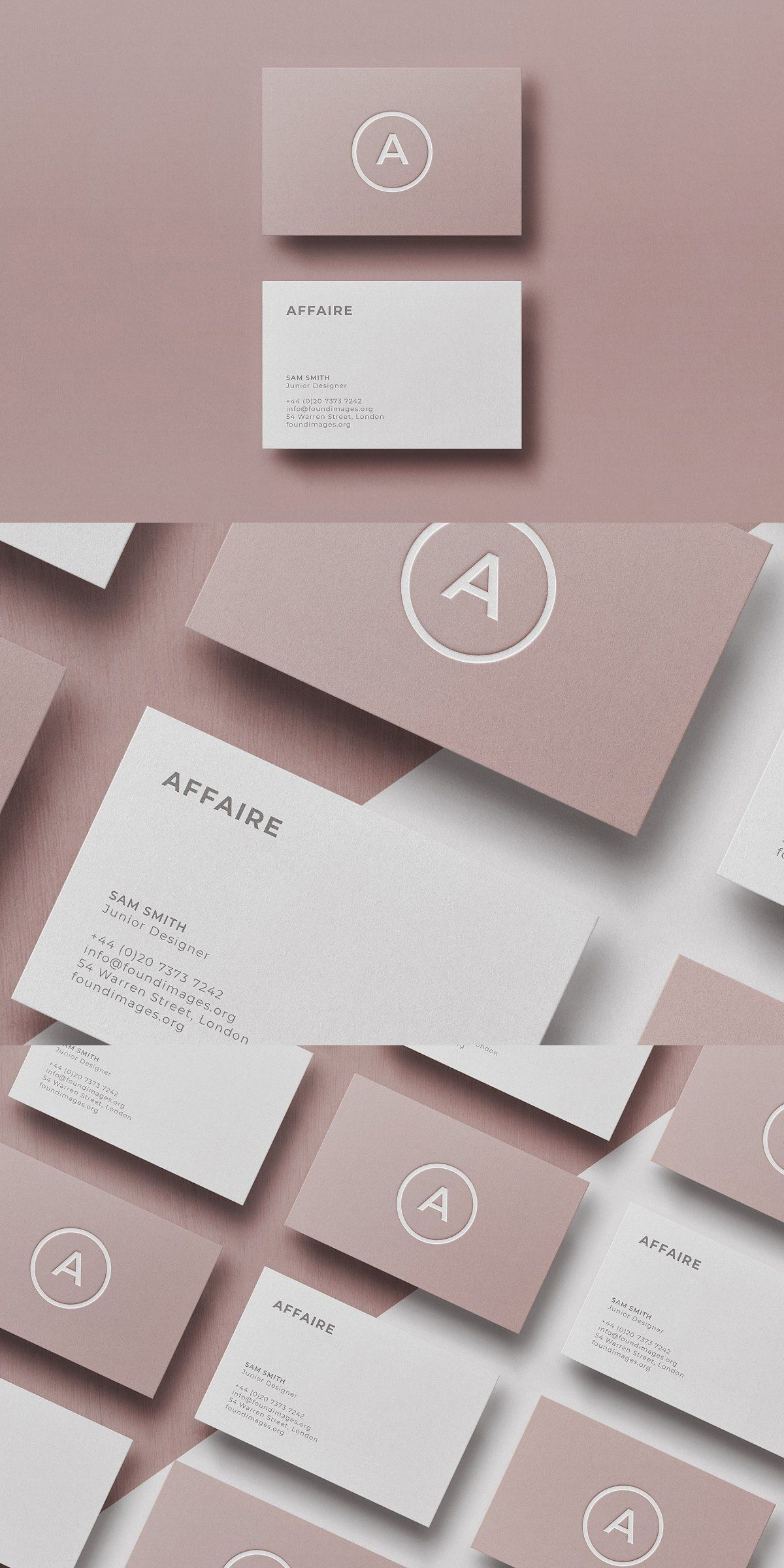 Business Card Template Mock Up Graphic Design Business Card Business Card Design Business Card Design Inspiration