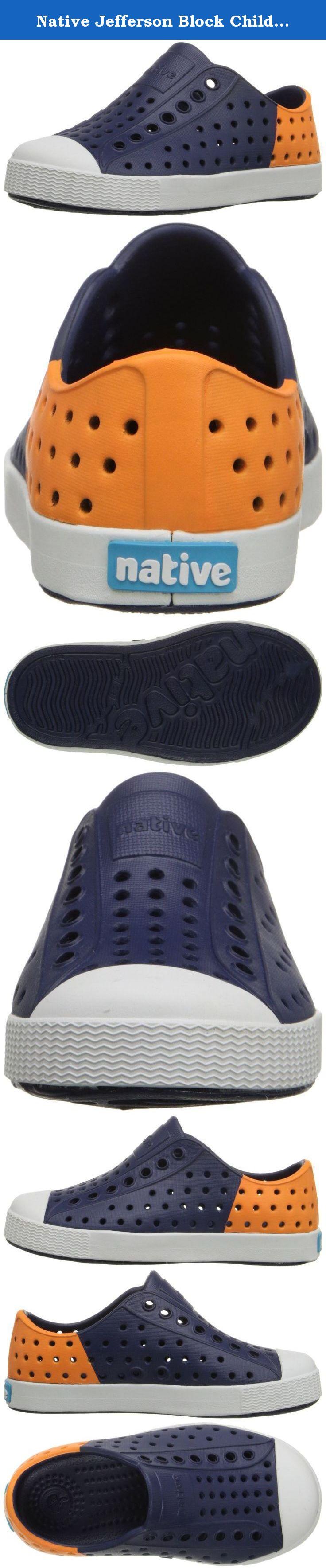 d8f680de5719c Native Jefferson Block Child Slip On Sneaker (Toddler/Little Kid ...