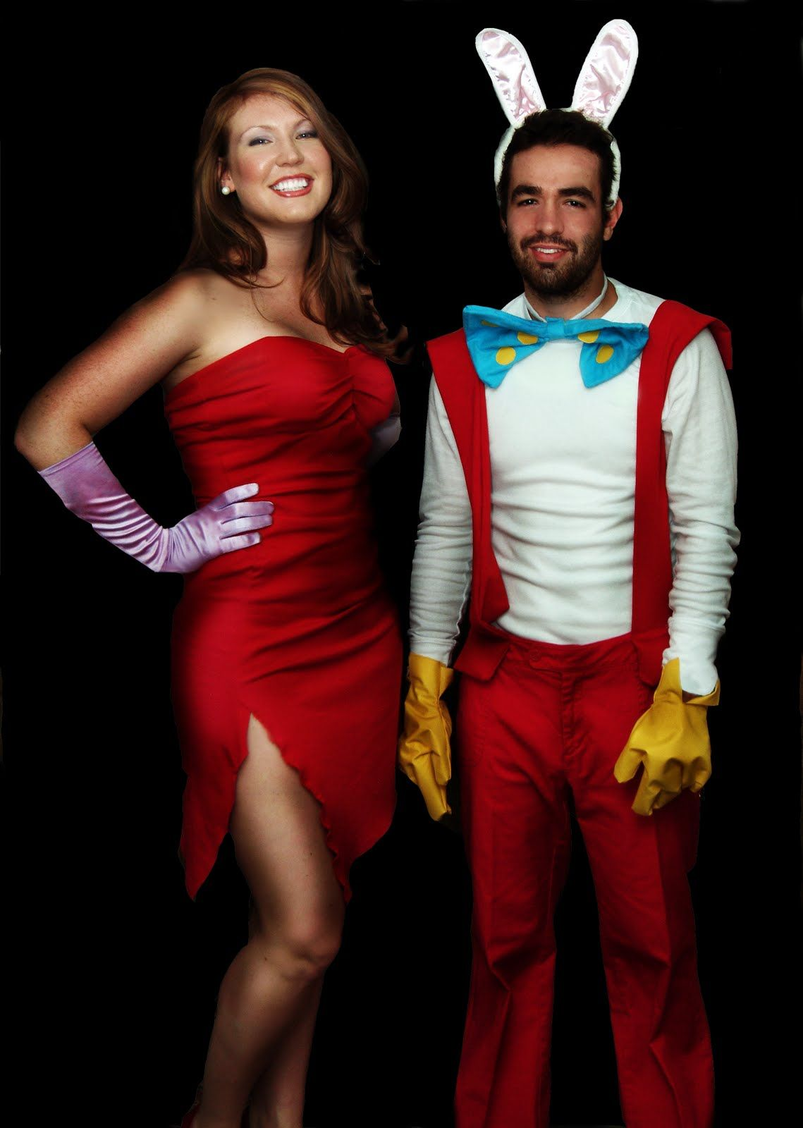 Haha, love this Roger Rabbit costume, too funny.
