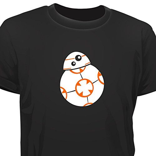 T-SHIRT - STAR WARS INSPIRED - BB8 DROID EPISODE 7 #camiseta #friki #moda #regalo