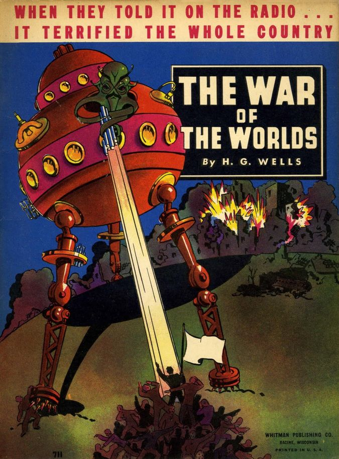 Throwback Thursday | The War of the Worlds - 1938  #war-of-the-worlds