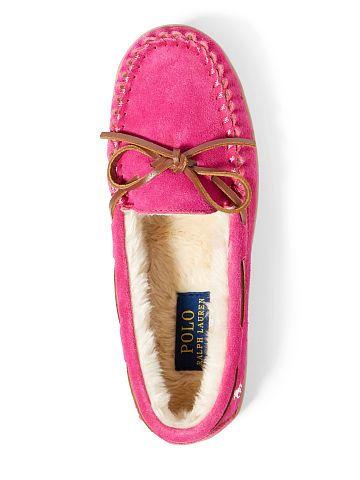 722d8eca0bca Charlie Suede Moccasin Slipper - Polo Ralph Lauren All Shoes - RalphLauren .com