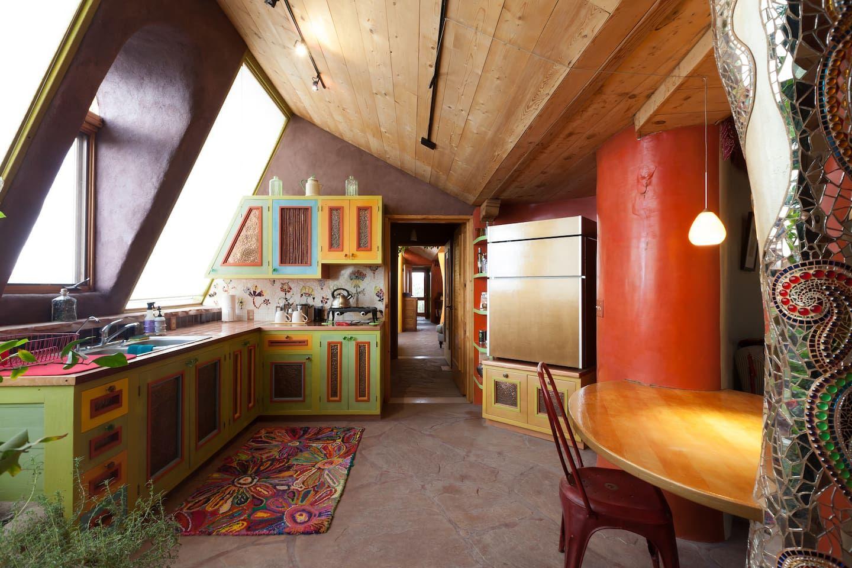 Entire home/apt in El Prado, United States. The Earthship
