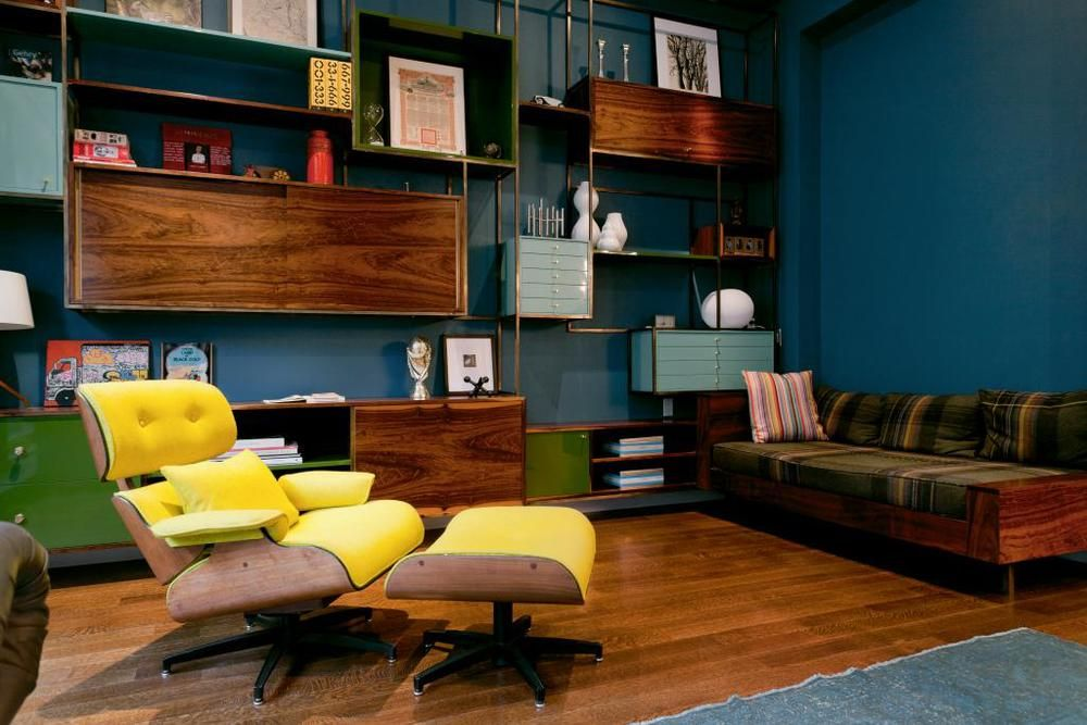 Eclectic Downtown Residence Mid Century Modern House Mcm Living Room Furniture