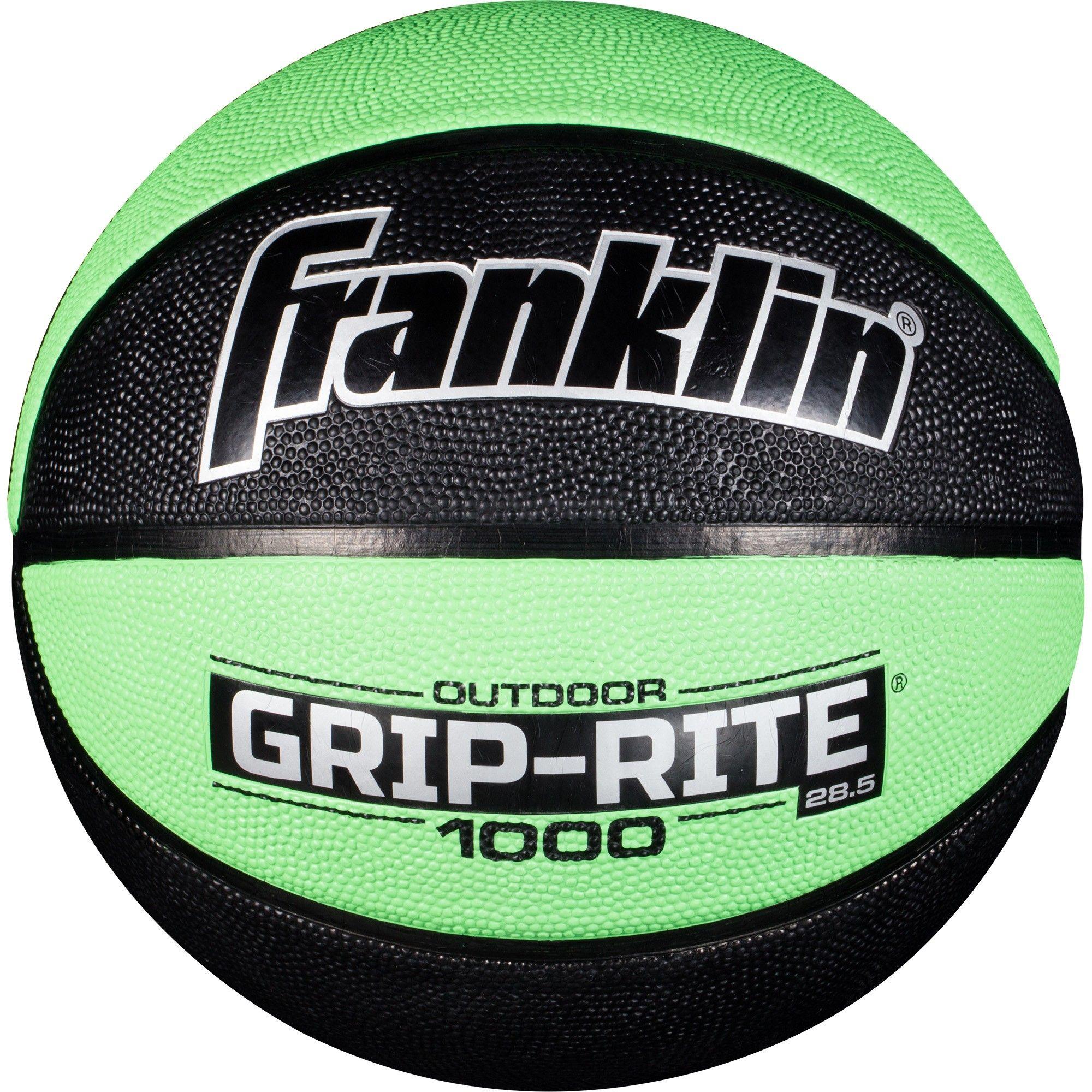 Franklin Sports Grip Rite 1000 28.5 Intermediate Basketball - Lime ... cc1f45a1eb908