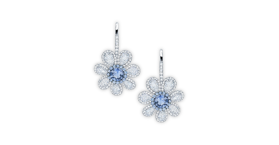Classic Designer Diamond Earrings | Golden Globe Jewelry Designers | Martin Katz