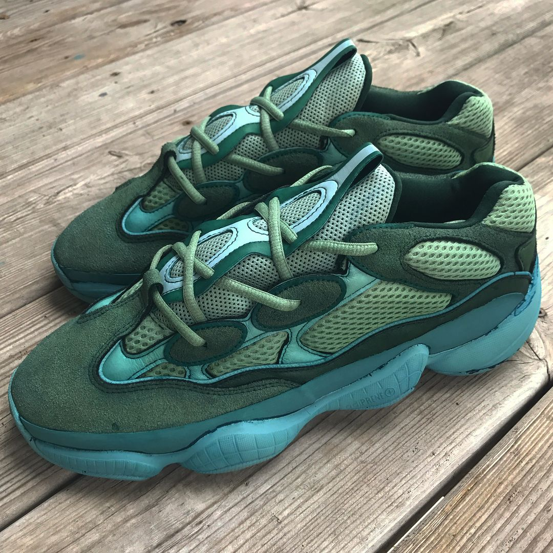 buy online 901cc 94ed0 Green Yeezy 500 | Manifest in 2019 | Sneakers, Balenciaga ...