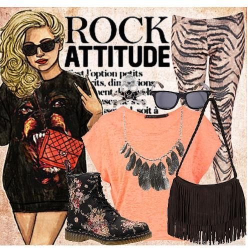 Grunge Look Attitude | Women's Outfit | ASOS Fashion Finder   BY liana23