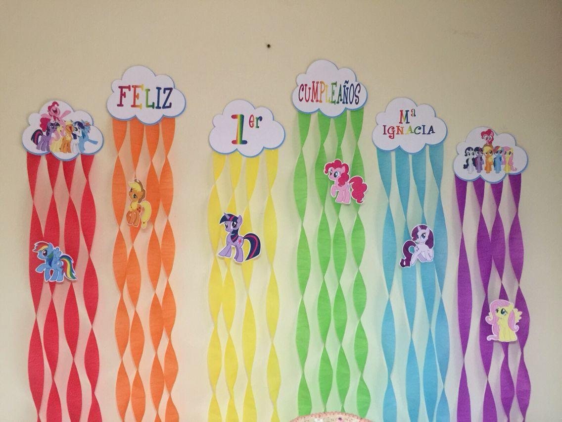 decoracin cumpleaos my little pony