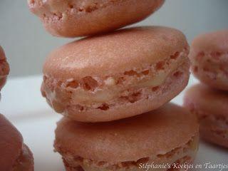 Stéphanie's Koekjes en Taartjes: Nog een keer macarons