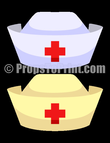 30 Printable Nurse Hat Template Simple Template Design Nurse Hat Hat Template Template Design