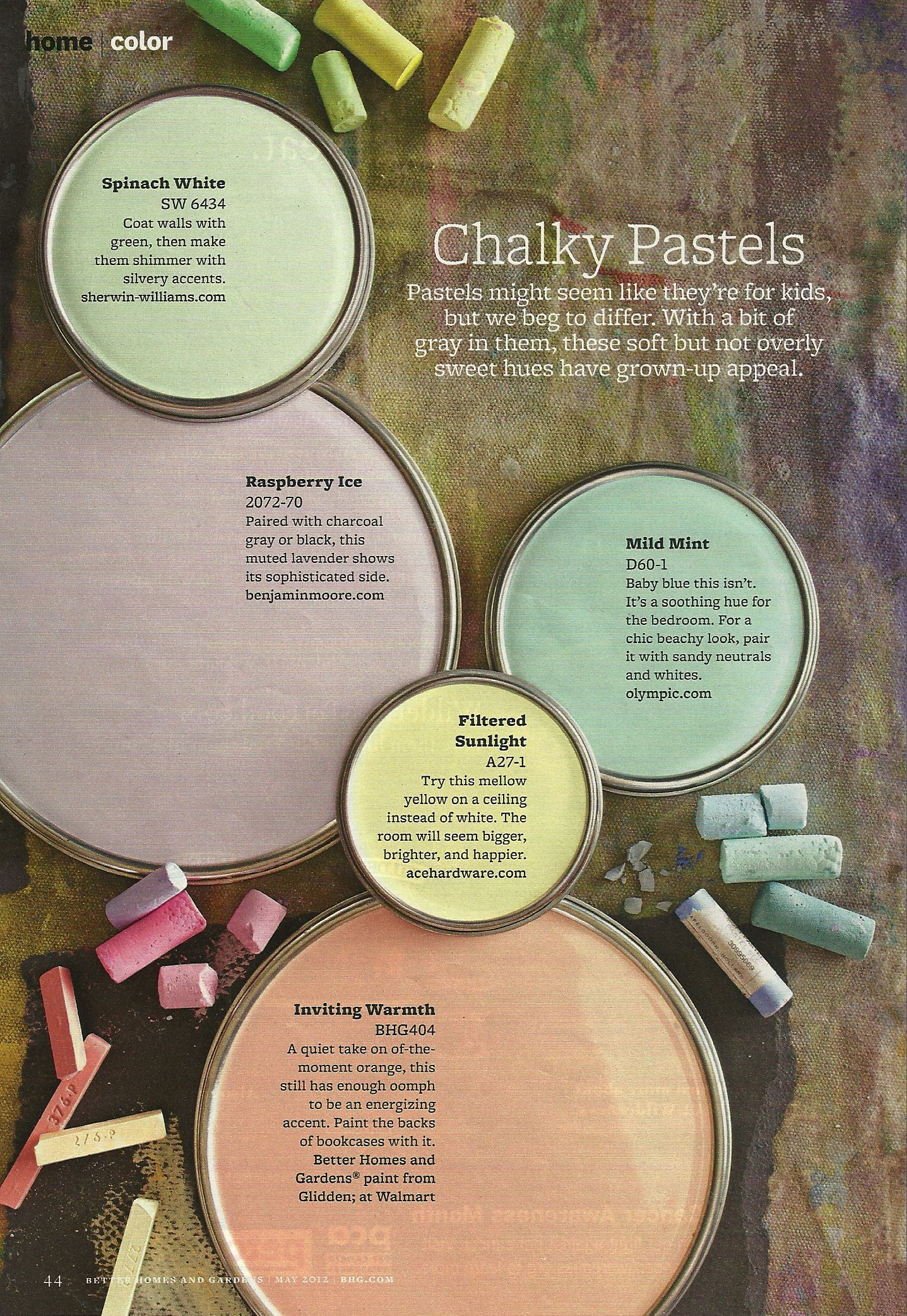 Chalky Pastels - BHG