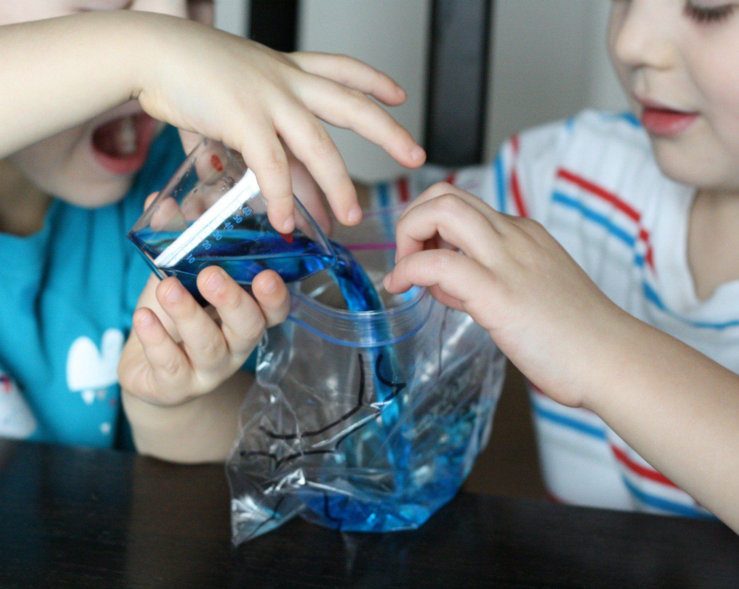 water cycle in a bag cycling study ideas and preschool classroom