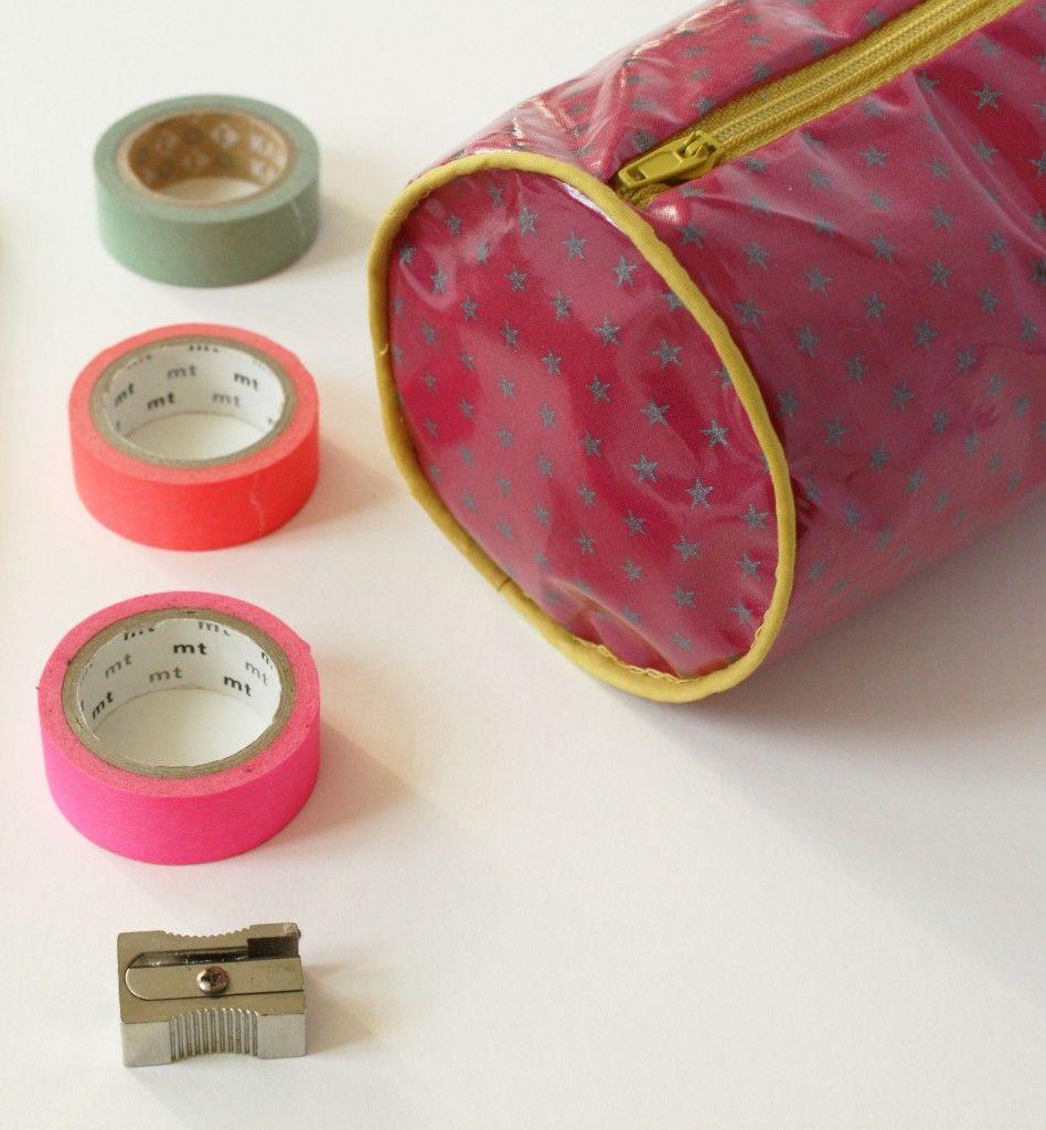 Le tuto de la trousse d'écolier | couture | Pinterest ...