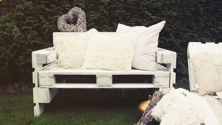 Gartenmöbel aus Paletten bauen ⇒ Schritt für Schritt - gartenmobel selber bauen anleitung