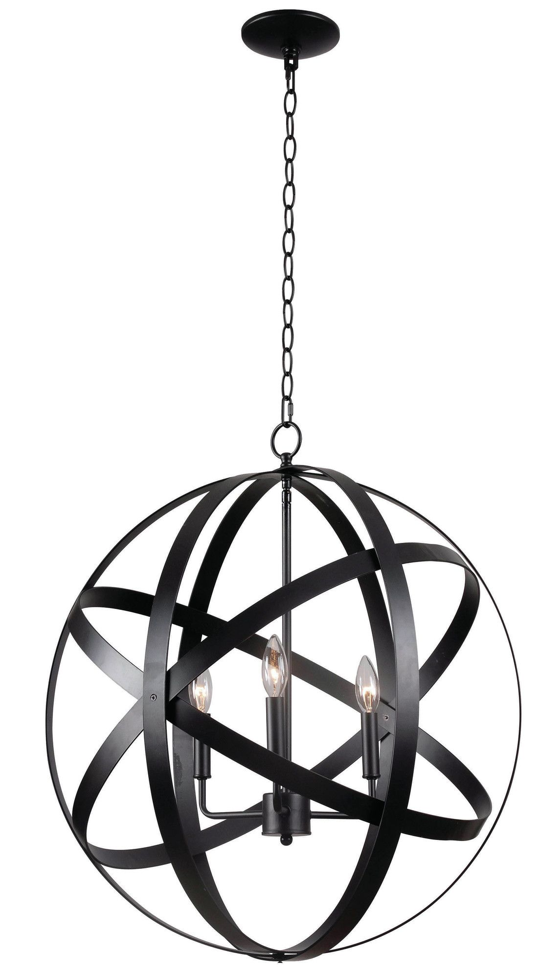 Ealey 1 Light Single Globe Pendant 3 Light Pendant Globe Chandelier Pendant Lighting