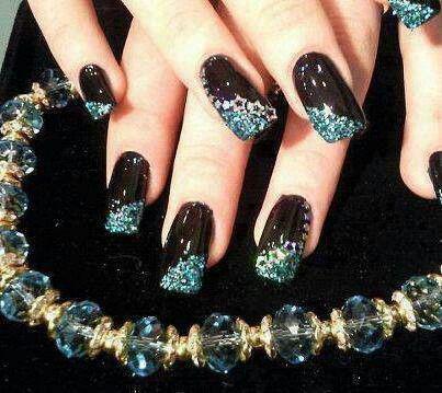 pincarmen hernandez on nails  toe nails  elegant