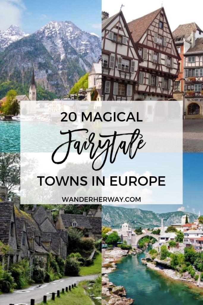 20 magische Märchenstädte in Europa, die Sie besuchen müssen #vacationdestinations